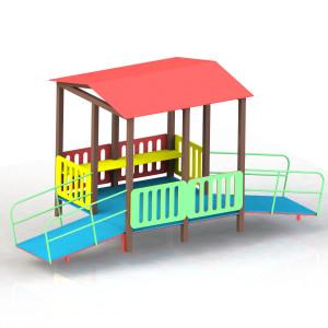 Будиночок ігровий дл діток з ОФМ