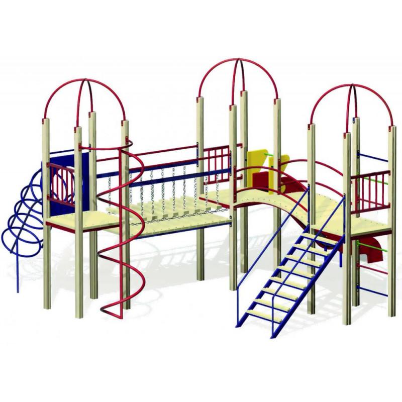 Дитячий ігровий комплекс «Вежа 3-1»