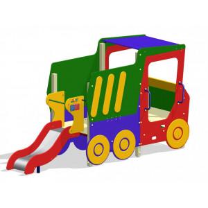 Комплекс ігровий дитячий  Самоскид з гіркою