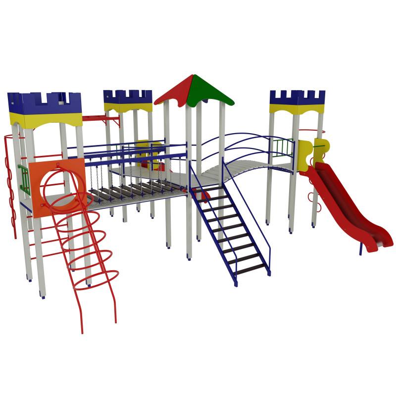 Дитячий ігровий комплекс «Фортеця 4-1»