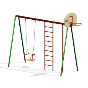 Гімнастичний комплекс Р 2.1 з баскетбольним щитом
