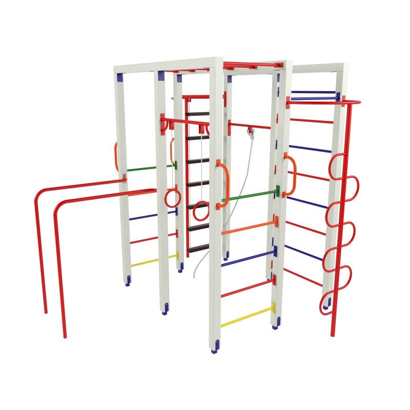 P5 гімнастичний комплекс з брусами та кільцями
