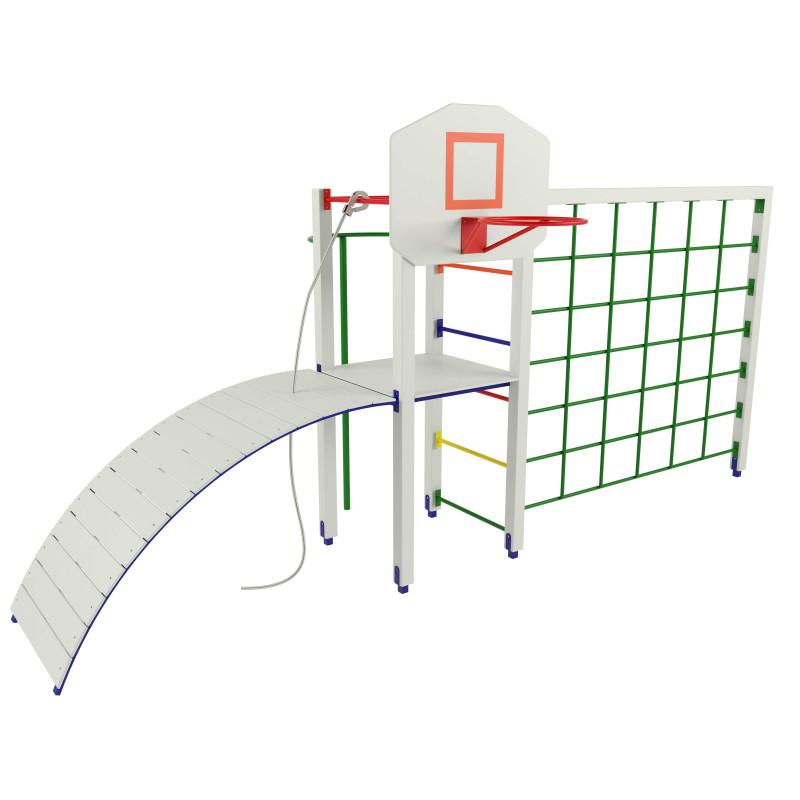 P6 Гімнастичний комплекс з баскетбольним щитом