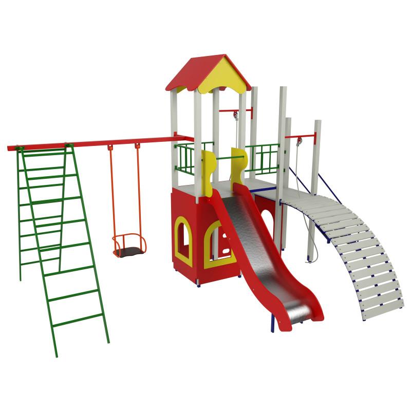 Дитячий ігровий комплекс «Хатинка 1-4»