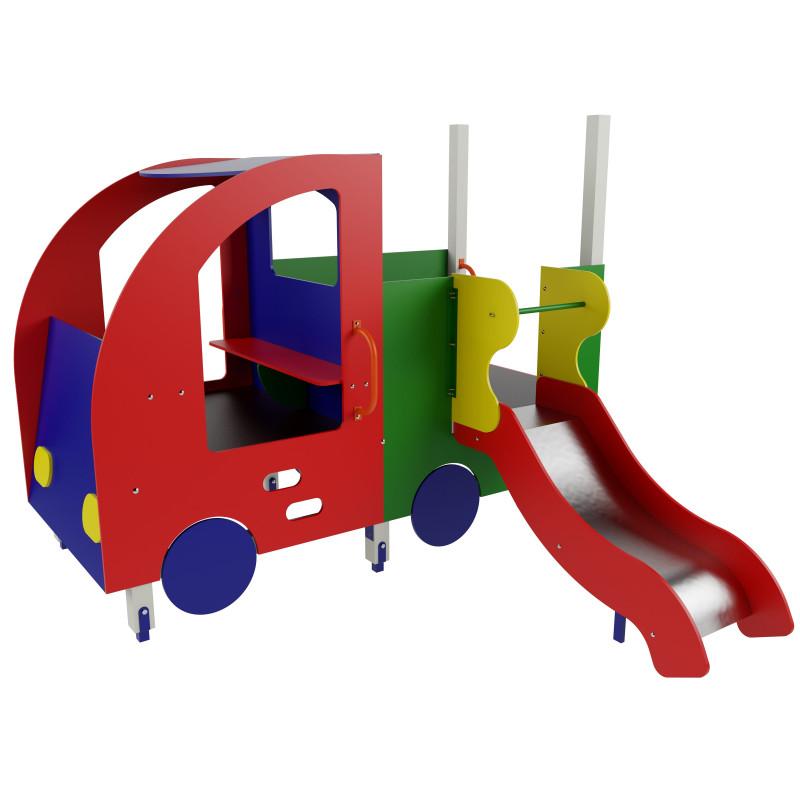 Дитячий ігровий комплекс «Машинка з гіркою»