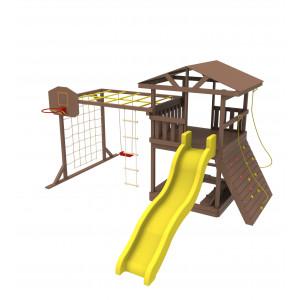 Дерев'яний дитячий ігровий комплекс «Мадрид»