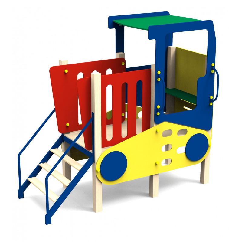 Дитячий ігровий комплекс «Трактор з драбиною»